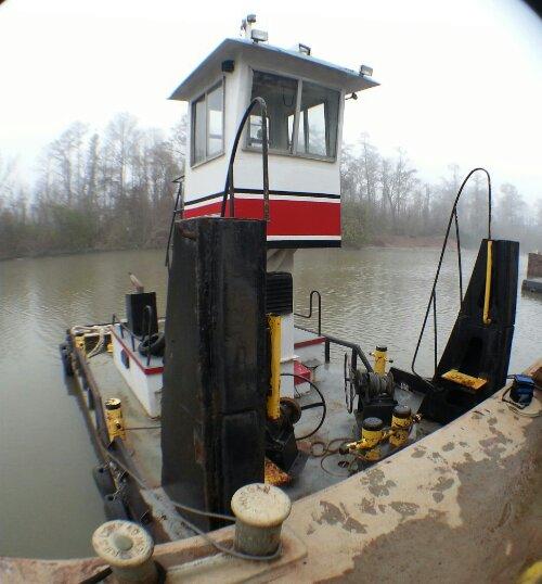 Truckable Pushboat