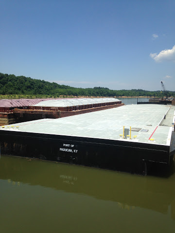 300′ x 60′ x 11′ Deck Barge   Bourg Marine, Inc