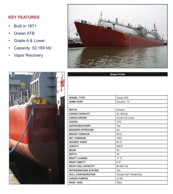 Barges for Sale | Bourg Marine, Inc